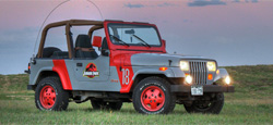 buying a jeep for jurassic park – jurassic jeep: 65 million years in