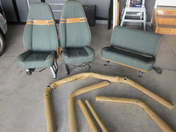 Seats and Roll Bar Padding