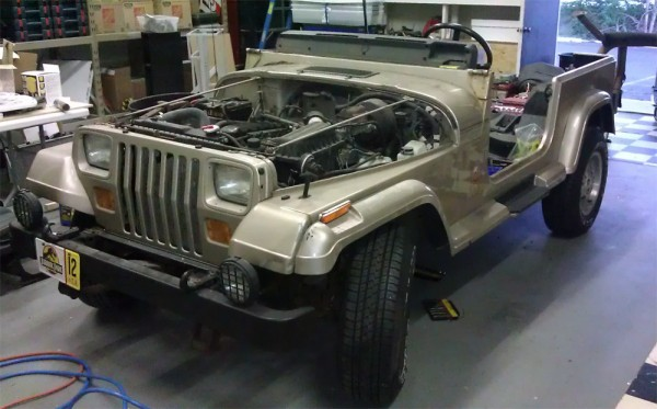 Jeep no hood or windshield