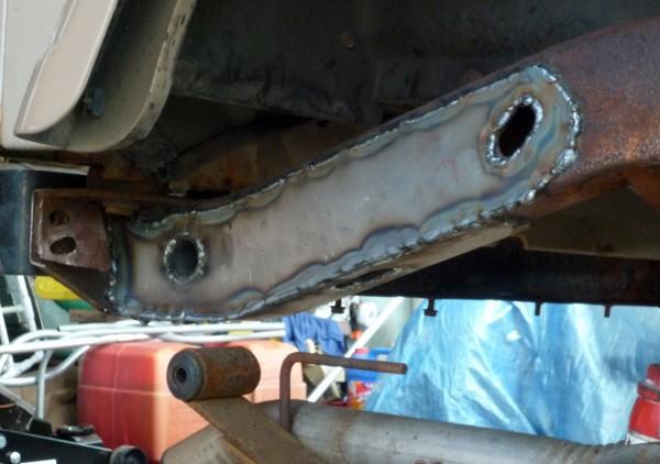 how to kill rust on a car frame